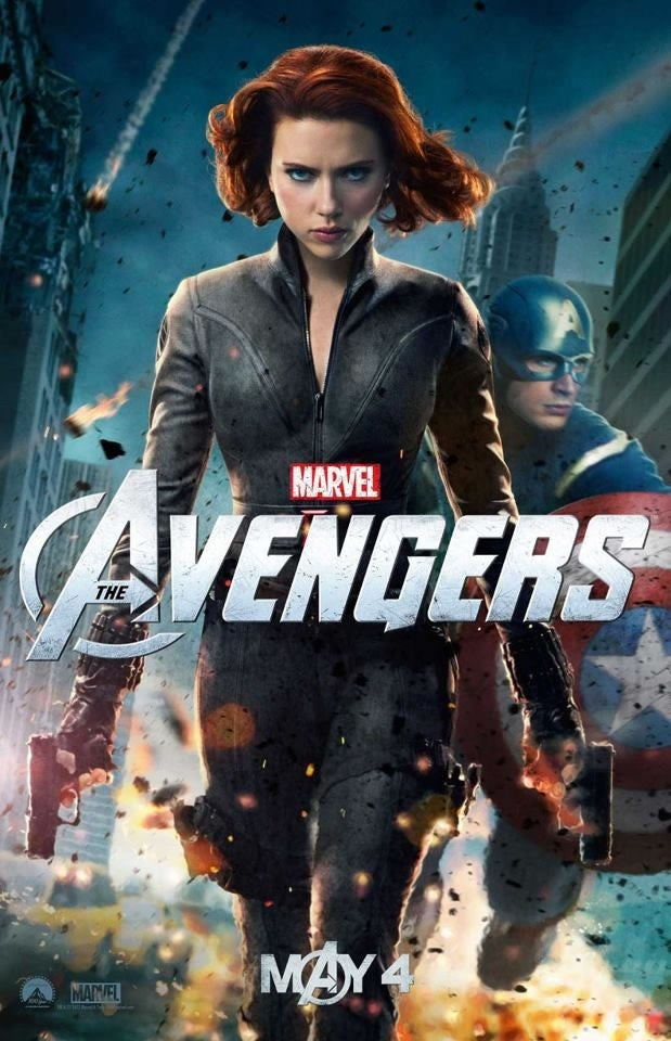 Avengers Character Posters