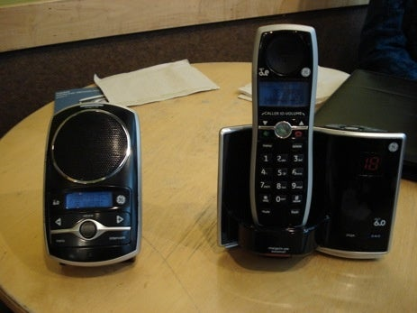 GE Premiere DECT 6.0 Phone With Home Intercom For Chatty Cathys