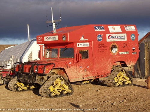 The Land Vehicles of Antarctica