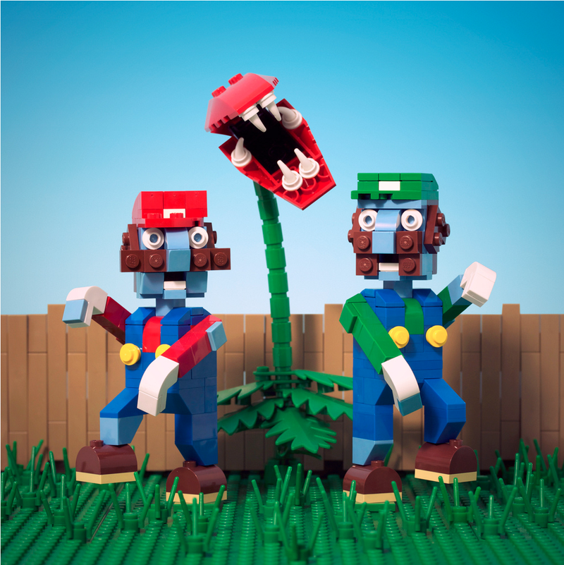 Plants vs. Plumbers vs. LEGO