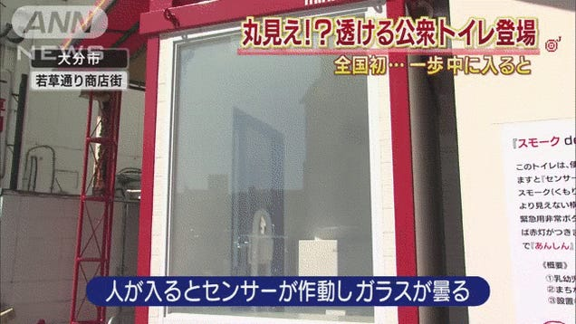 Public Toilet in Japan Accidentally Exposes Your Most Private Moments