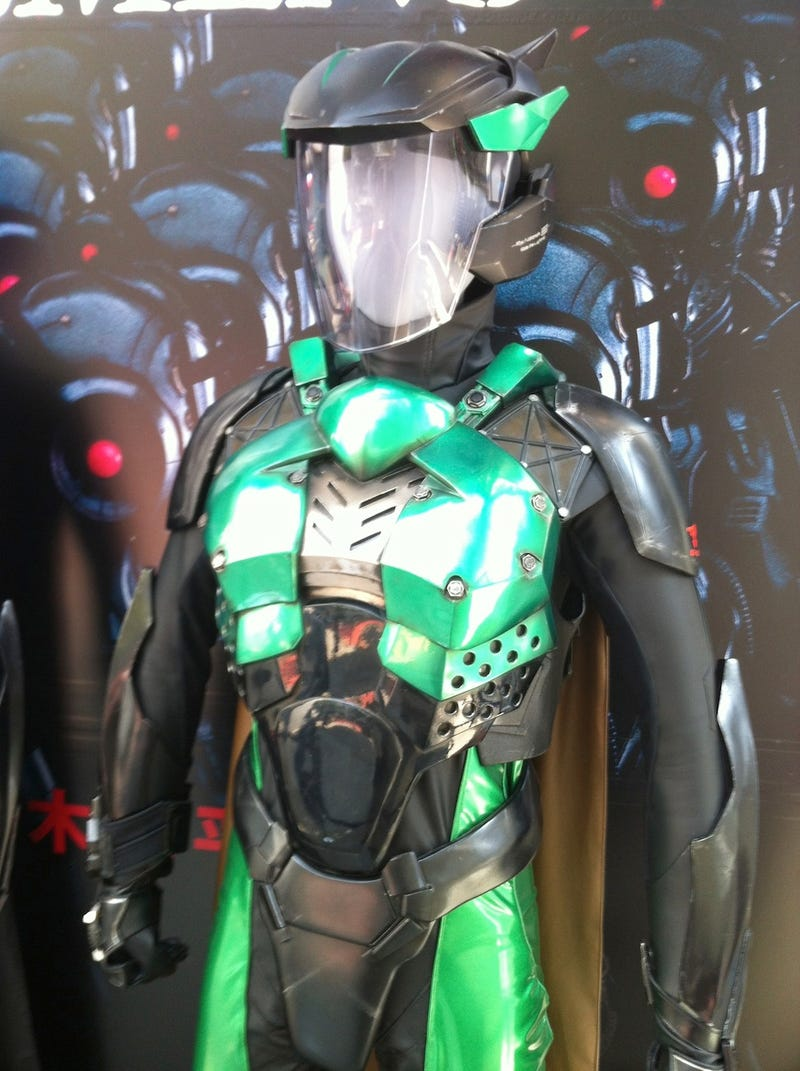 Best look at the live-action Gatchaman's awesome superhero suits