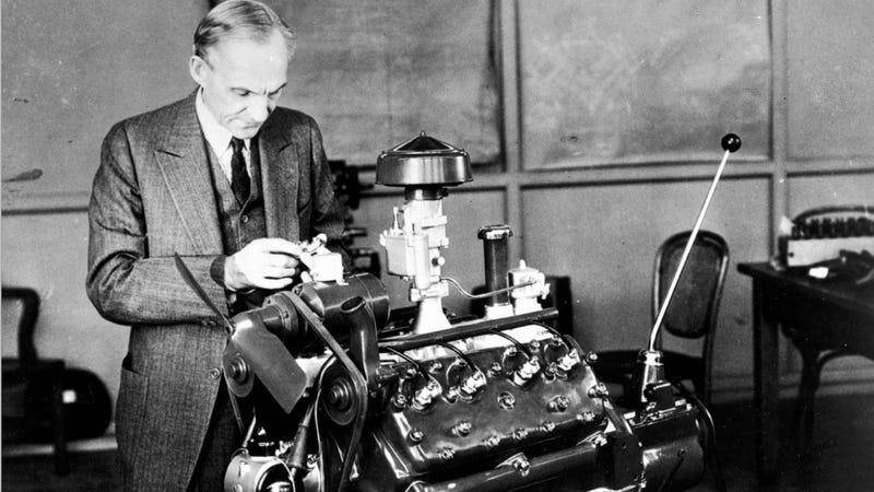 How Henry Ford Democratized V8 Power