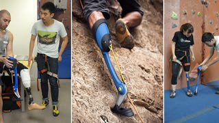 A Prosthetic Leg For Mountain Climbers, Inspired By Sure-Footed Goats