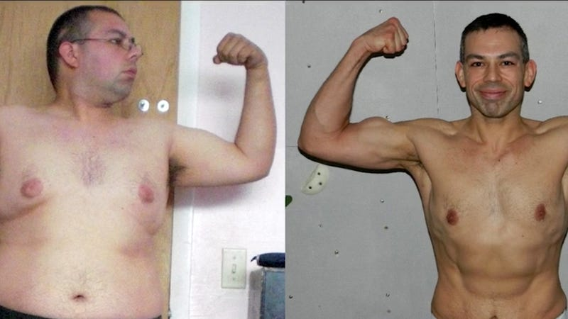 Guy loses 100 pounds eating McDonald's and becomes an athlete