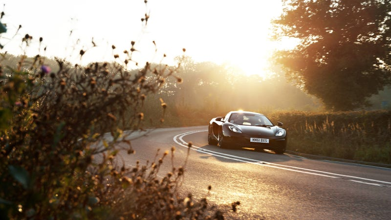 Your ridiculously cool McLaren MP4-12C Wallpaper is here