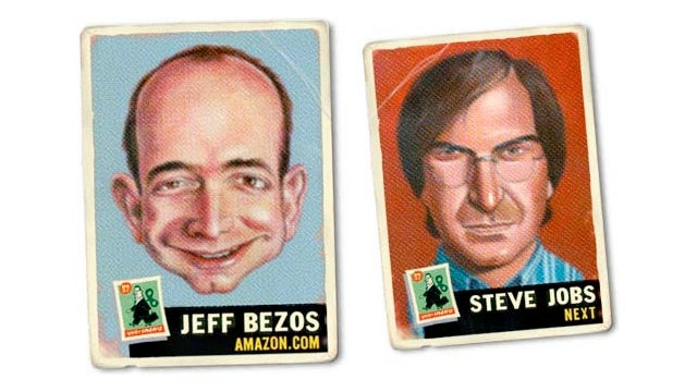 Do Tech Exec Trading Cards Have Business Stats on the Back?