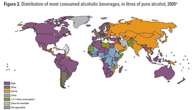 These Are the World's Drunkest Countries