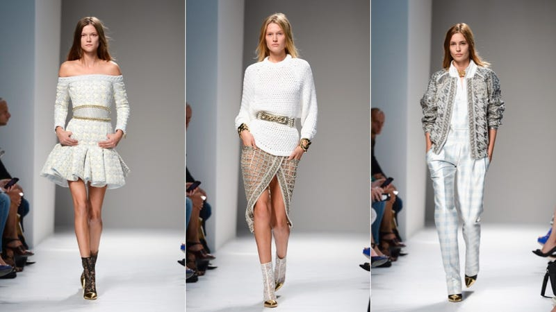 Balmain, for Bringing Back '80s Rich Bitch Realness