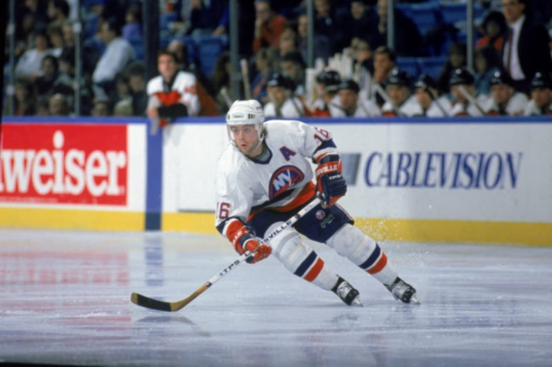 The Islanders Have Pretty Much Whitewashed Pat LaFontaine From Their History