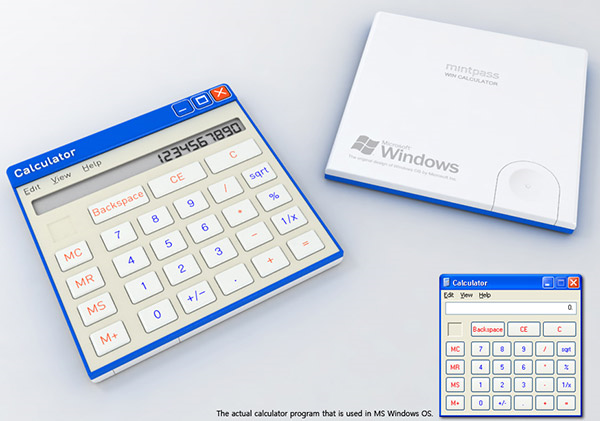 OS Calculator Concepts Look Cool, Probably Won't Ever Get Made
