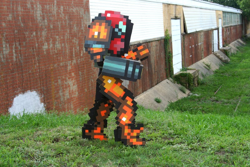 Vintage Metroid Cosplay Doesn't Need the Third Dimension