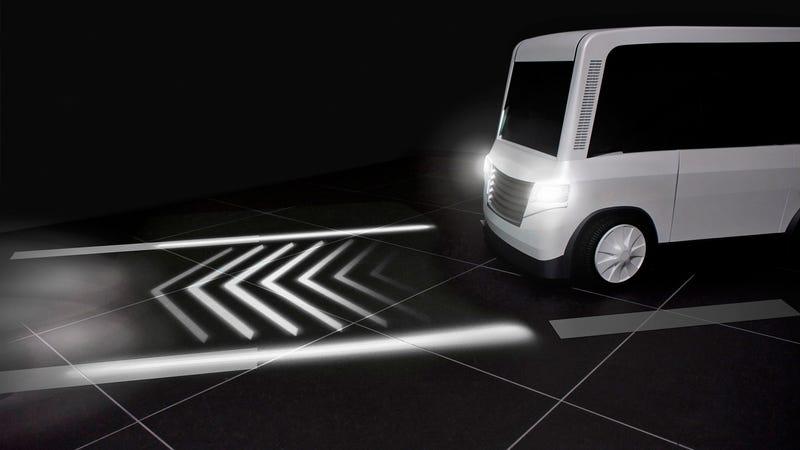 Road- illuminating Directional Indicators