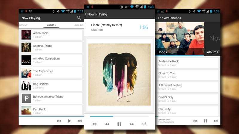 Now Playing is a Free, Fast, Good-Looking Music Player for Android