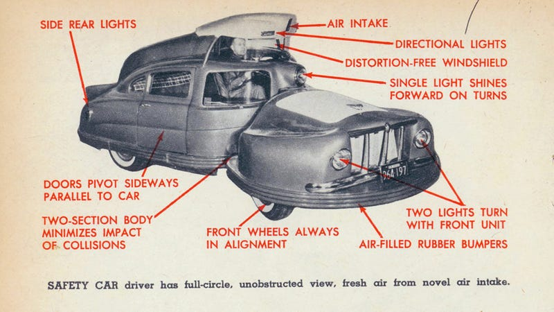 Get to know Sir Vival, the automotive monster that just wants to keep you safe