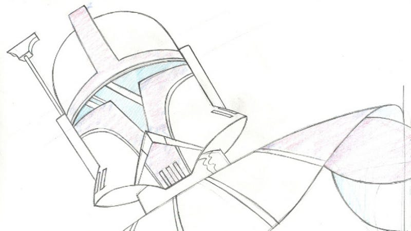 Concept Art from Lucas' forgotten Star Wars Animated Series