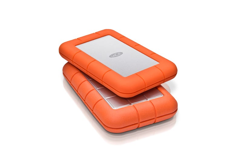 LaCie's Rugged Mini Hard Drive Is Kind of Begging to Be Abused