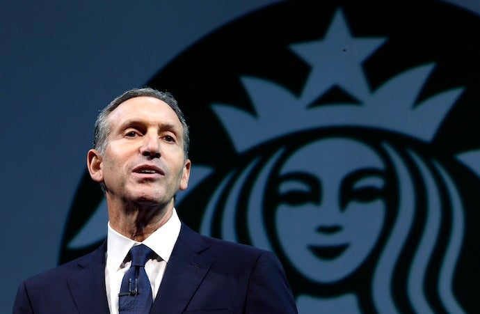 Watch the CEO of Starbucks Tell a Shareholder to Sell His Shares if He's Not Down With Marriage Equality