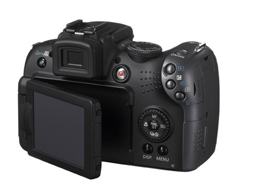Canon 10MP SX10 Boasts 20x Optical Zoom Lens