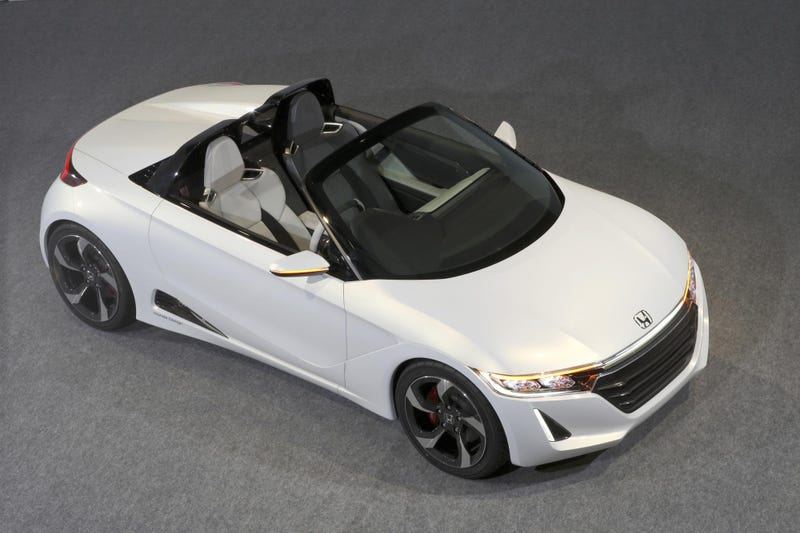 The Honda S660 Concept Is A Sporting Return To Form For Honda
