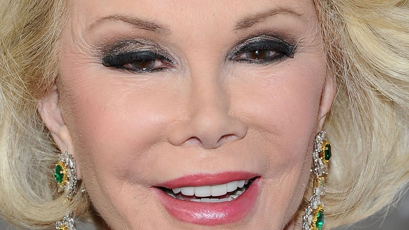 Joan Rivers Has Had Plastic Surgery 739 Times