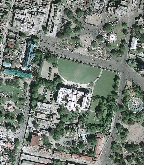 High-Res Satellite Images of Haiti Capital Show Devastation From 423 Miles In Space