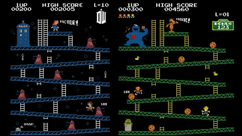 The World Needs These Star Wars and Indiana Jones Versions of Donkey Kong