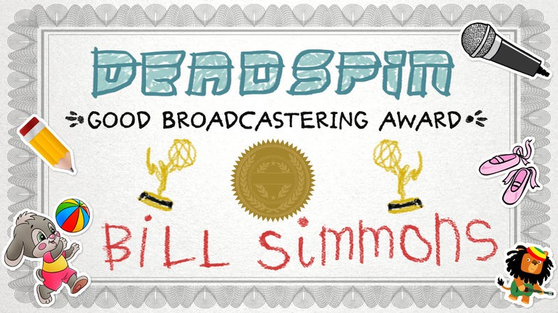 Bill Simmons Is Sad About The Sports Emmys, So We Made A Prize For Him