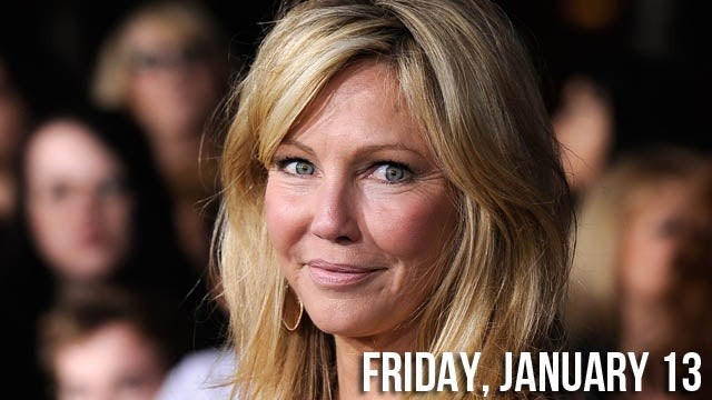 Booze, Drugs, & Sadness Send Heather Locklear to Hospital