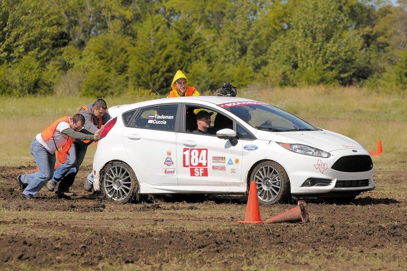 What's it like to compete in a national-level SCCA RallyCross event?