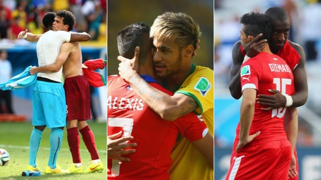 Sweaty and Sweet: The World Cup's Most Tender Man-Hugs