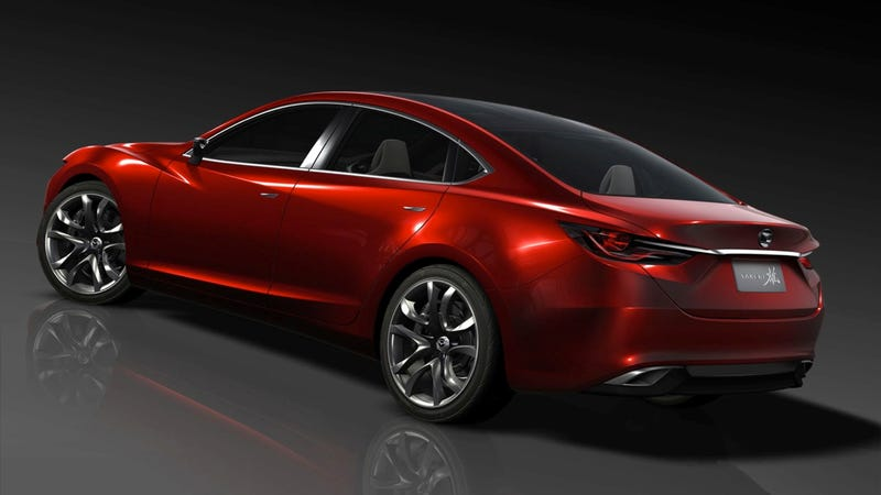 Mazda 6 Concept: Press Photos