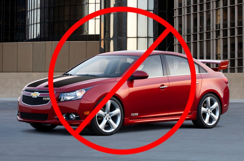 "Chevy Cruze, Already Down One ""S,"" Won't Get Two"