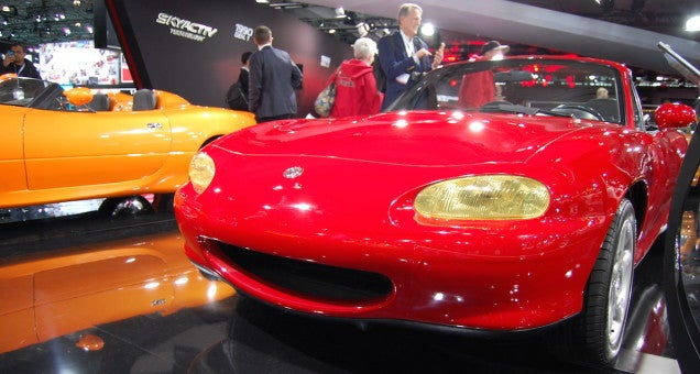Behind The Scenes Of Mazda's Miata-gasm At The New York Auto Show