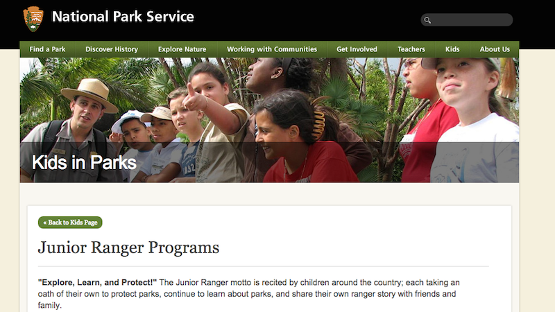 The Junior Rangers Program Teaches Kids to Love the Great Outdoors