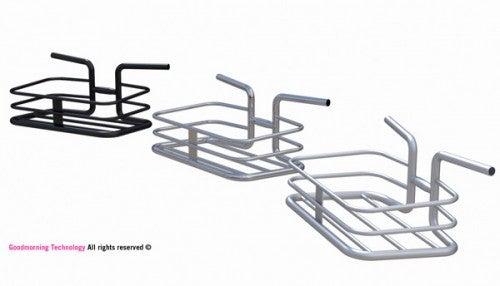 Bike Handlebars WIth Built-In Basket