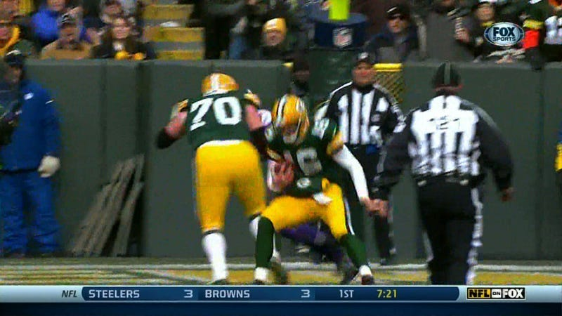 Look At The Moves On Tolzien!