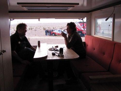 MAN Overland Dakar Truck: Racing Photos