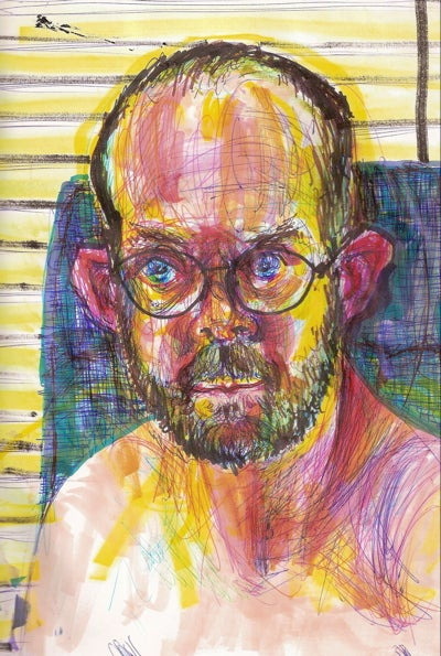 The self-portraits of an artist under the influence of meth, PCP, and other drugs