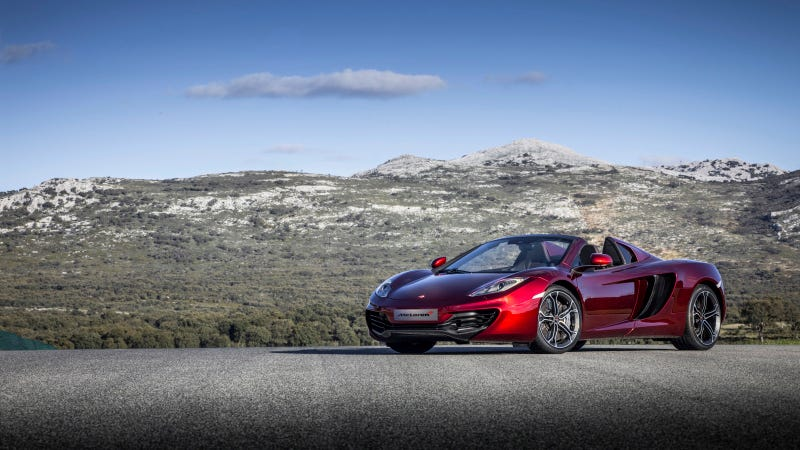 2013 McLaren 12C Spider: First Photos