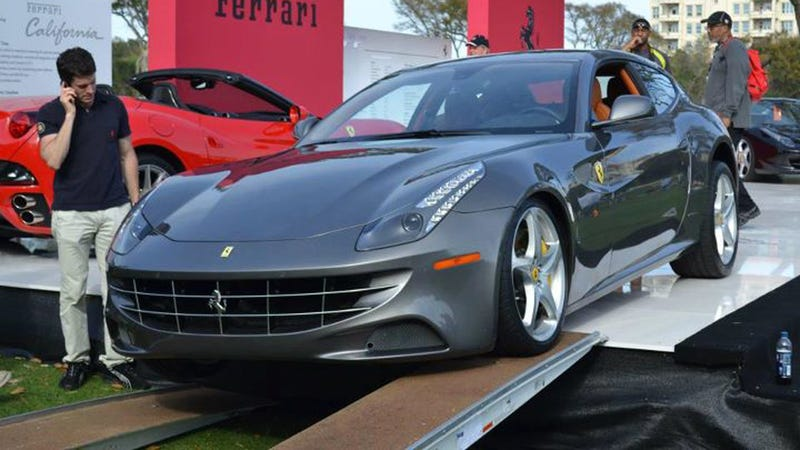 How Not To Unload A $300,000 Ferrari