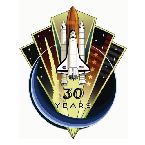 Here's the Final Space Shuttle Mission Patch