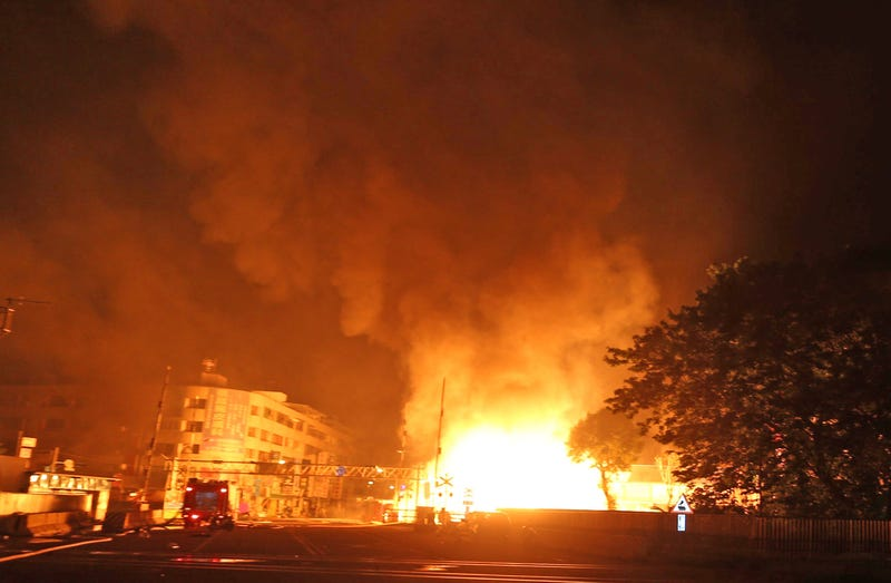 Explosions Devastate Taiwanese City, Killing 25 And Flipping Vehicles