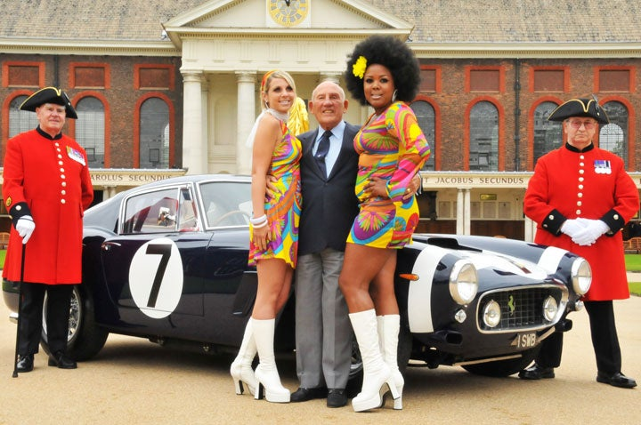 Sir Stirling Moss joins the Knights of the Round Bottom