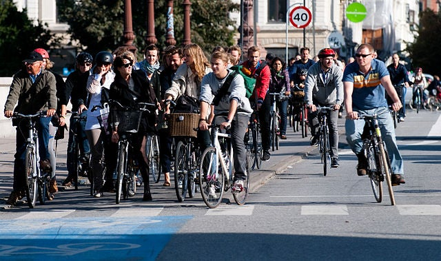 Bicycling Is Now The Fastest Growing Method Of Commuting To Work