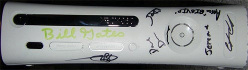 Xbox 360 Bill Gates Edition (1 of 1 Limited Apology Run)