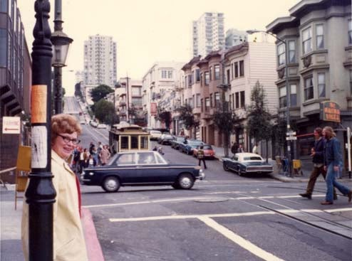 San Francisco, 1973: How Many Cars In This Photo Can You Identify?