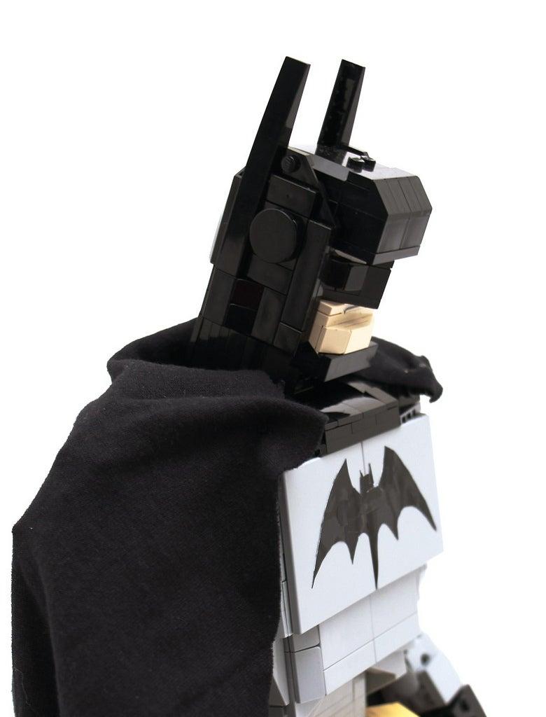 Articulated Lego Batman Figure