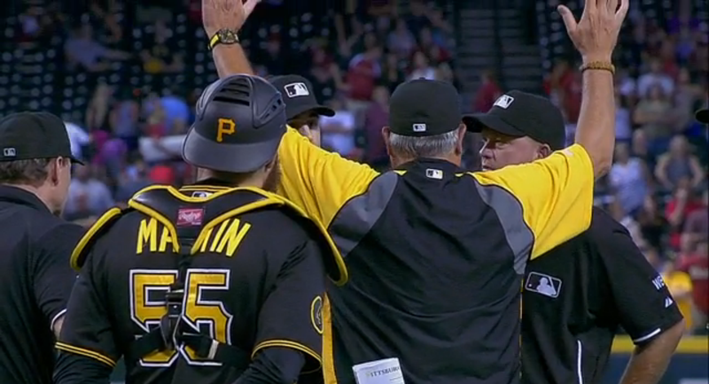 Pirates Still Stewing Over Controversial Walk-Off Loss