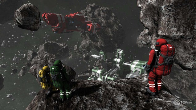 Space Engineers: Do you want to build a spaceship?!?!?